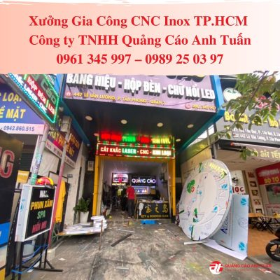 Xưởng gia công CNC inox