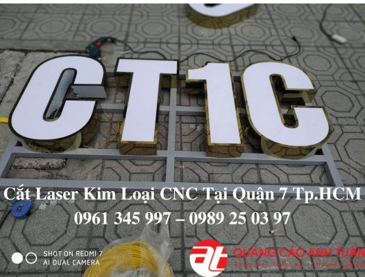 Cắt Laser kim loại CNC