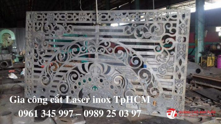 Chuyên cắt laser inox