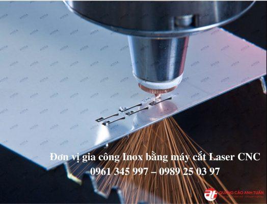Gia công inox bằng máy laser