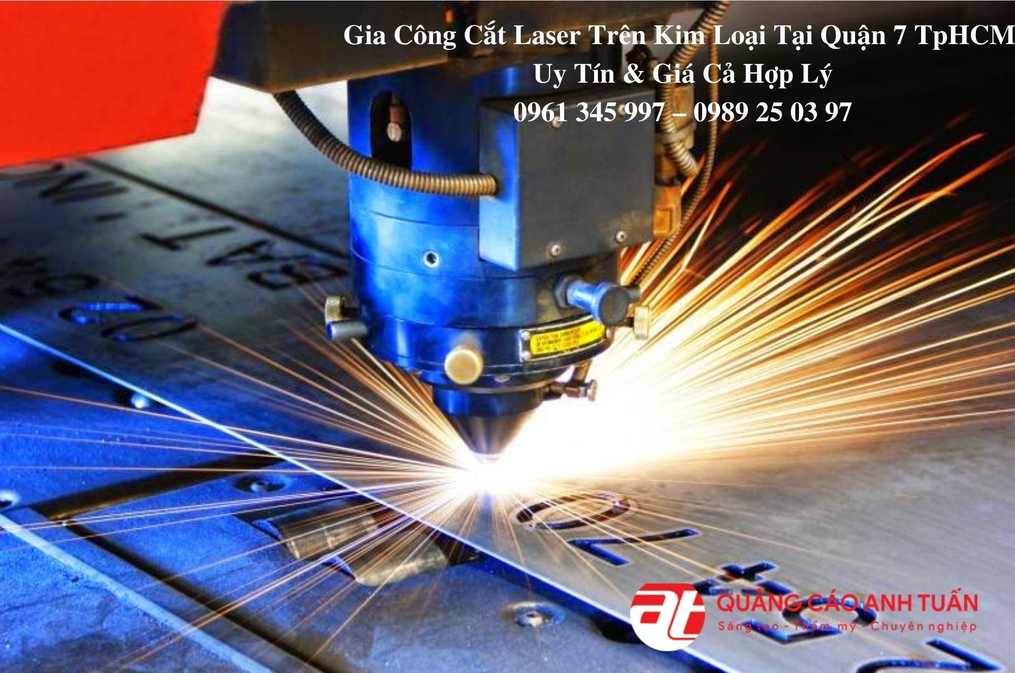 gia công cắt laser trên kim loại