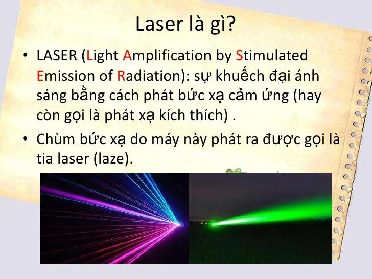Laser Là Gì? Được Ứng Dụng Như Thế Nào Trong Đời Sống?